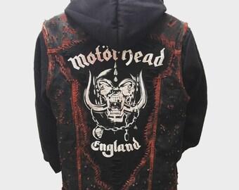b7b698679 Rock-N-Roll hoodie vest by Chad Cherry