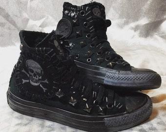abeeb3b4c90c6b Planet Skull shoes by Chad Cherry