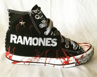 8164d92b4d8d RAMONES shoes Chuck Taylor All Star