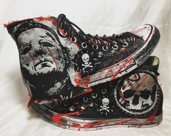 b291007ae628 Blood of The Shape shoes by Chad Cherry
