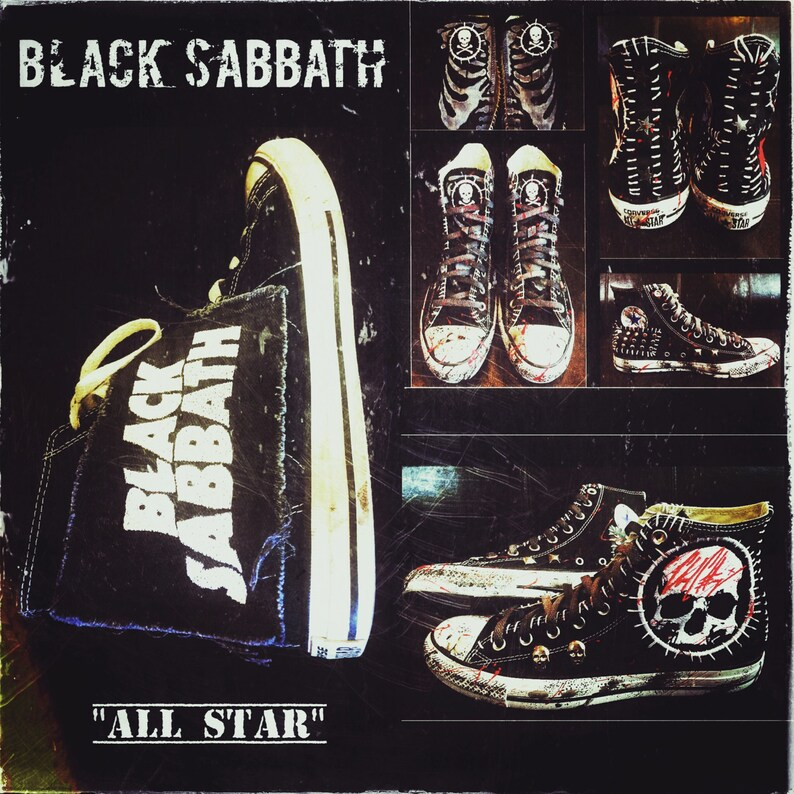 b44a8c6c7297 Black Sabbath Converse by Chad Cherry
