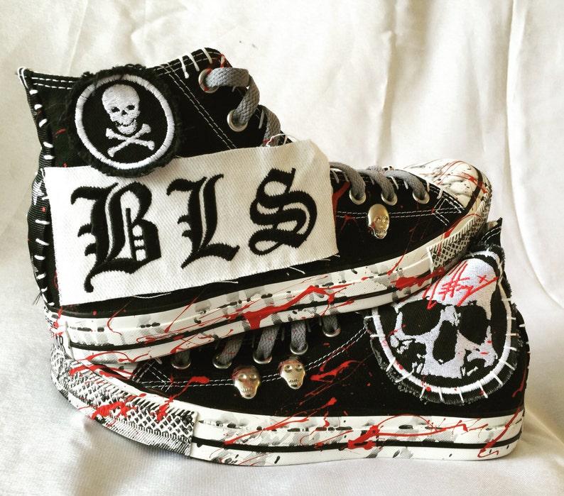 5cc561bd9b84 Black Label Society shoes by Chad Cherry