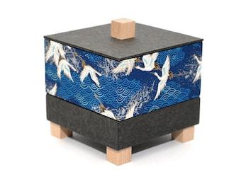 Small jewelry box *cranes*
