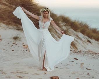 Amazing Beach Wedding Dresses
