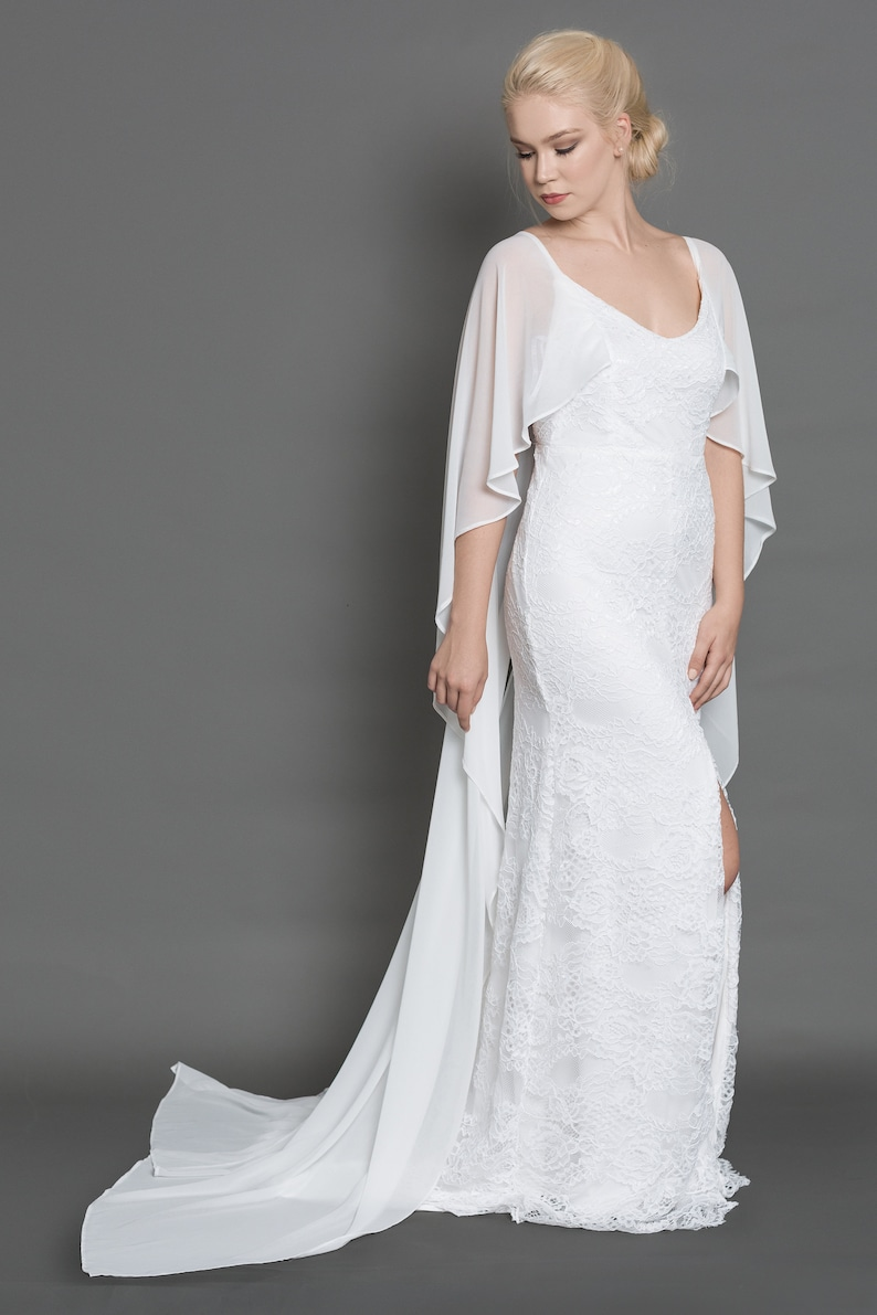 Image 0: Lace Wedding Dress Casual At Reisefeber.org