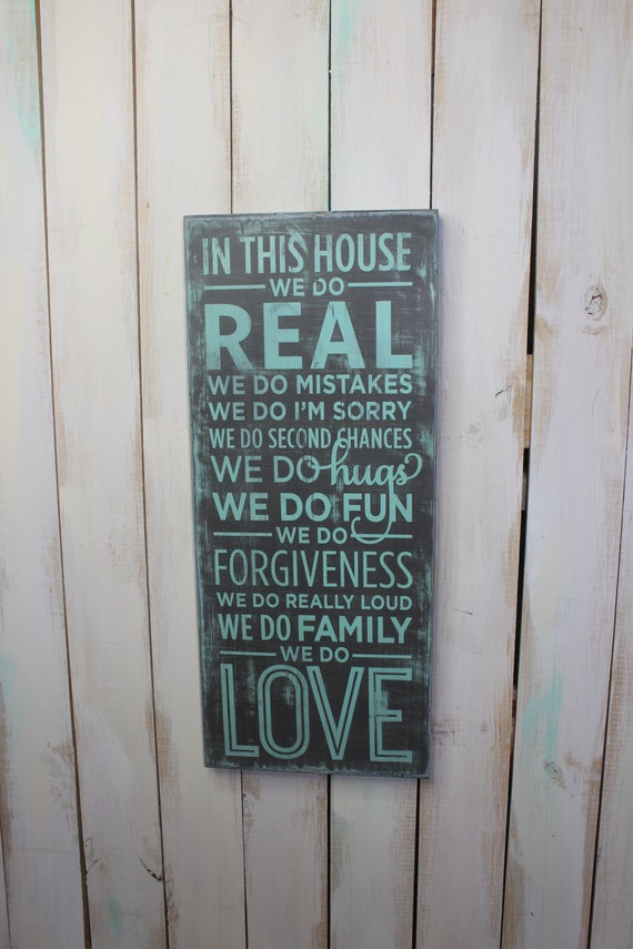 House Rules Plaque Living Room Sign Family Quotes Love Etsy Magnificent Love Plaques Quotes