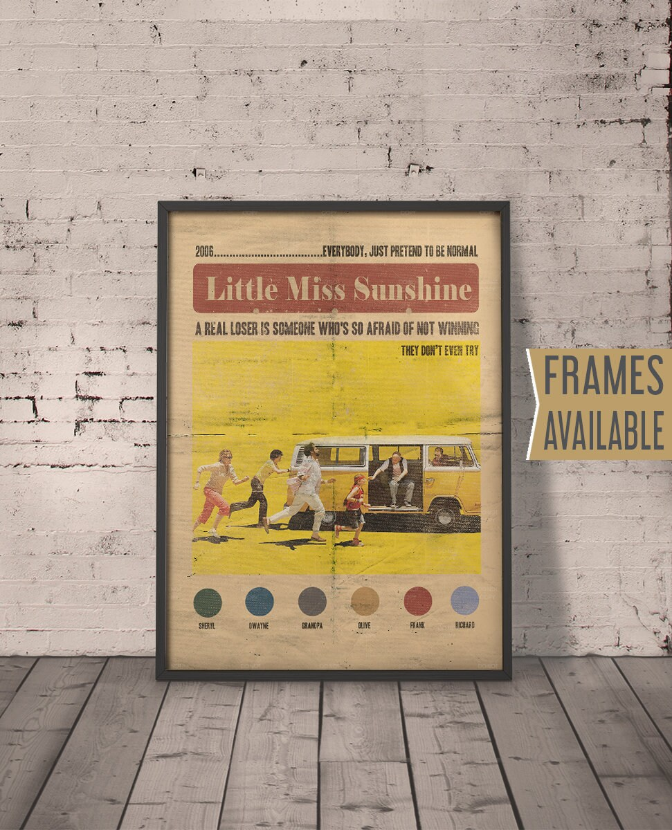 LITTLE MISS SUNSHINE Print Classic Movie Film Quotes Wall Art | Etsy