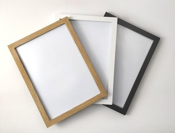 Cadre Photo Image Affiche Frames Wood Wall Decor Pendaison cadres A1 A2 A3 A4 A5