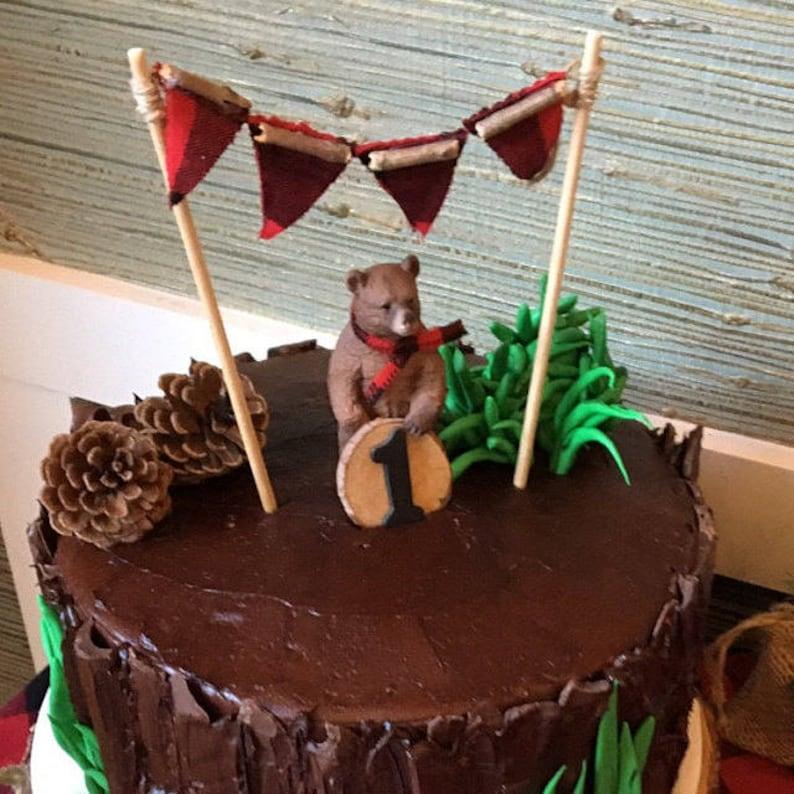 Lumberjack Cake Topper Lumberjack Birthday Lumberjack ...