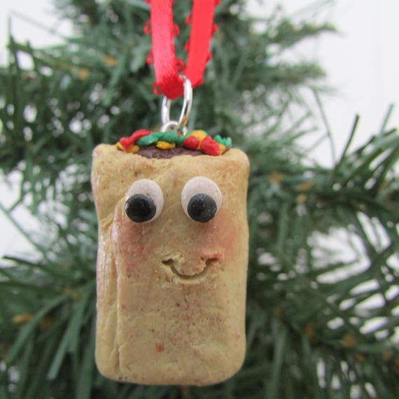 Like this item? - Burrito Christmas Ornament Burrito Ornament Burrito Charm Etsy