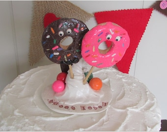 Sweet Love Wedding Cake Topper, Doughnut Wedding Cake Topper, Doughnut Wedding, Sweet Love Wedding, Sweet Love, Candy Wedding Topper, Sweet
