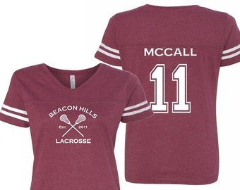 Teen Wolf Beacon Hills Lacrosse Women s Double Sided Jersey - McCall 11 d8fd4ed83