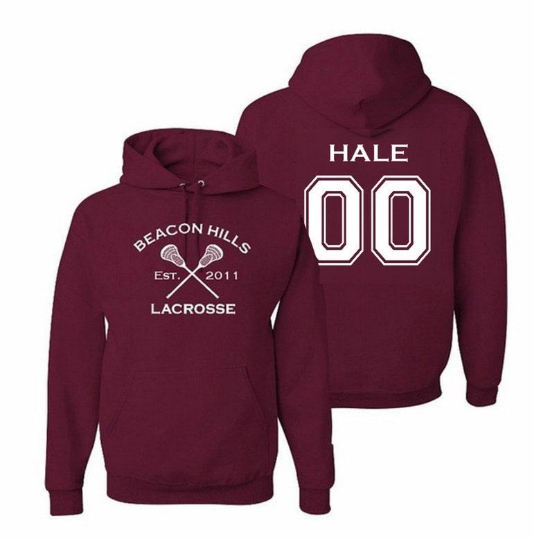 3e26758597 Teen Wolf Hoodie Hale 00 Beacon Hills Lacrosse Hooded