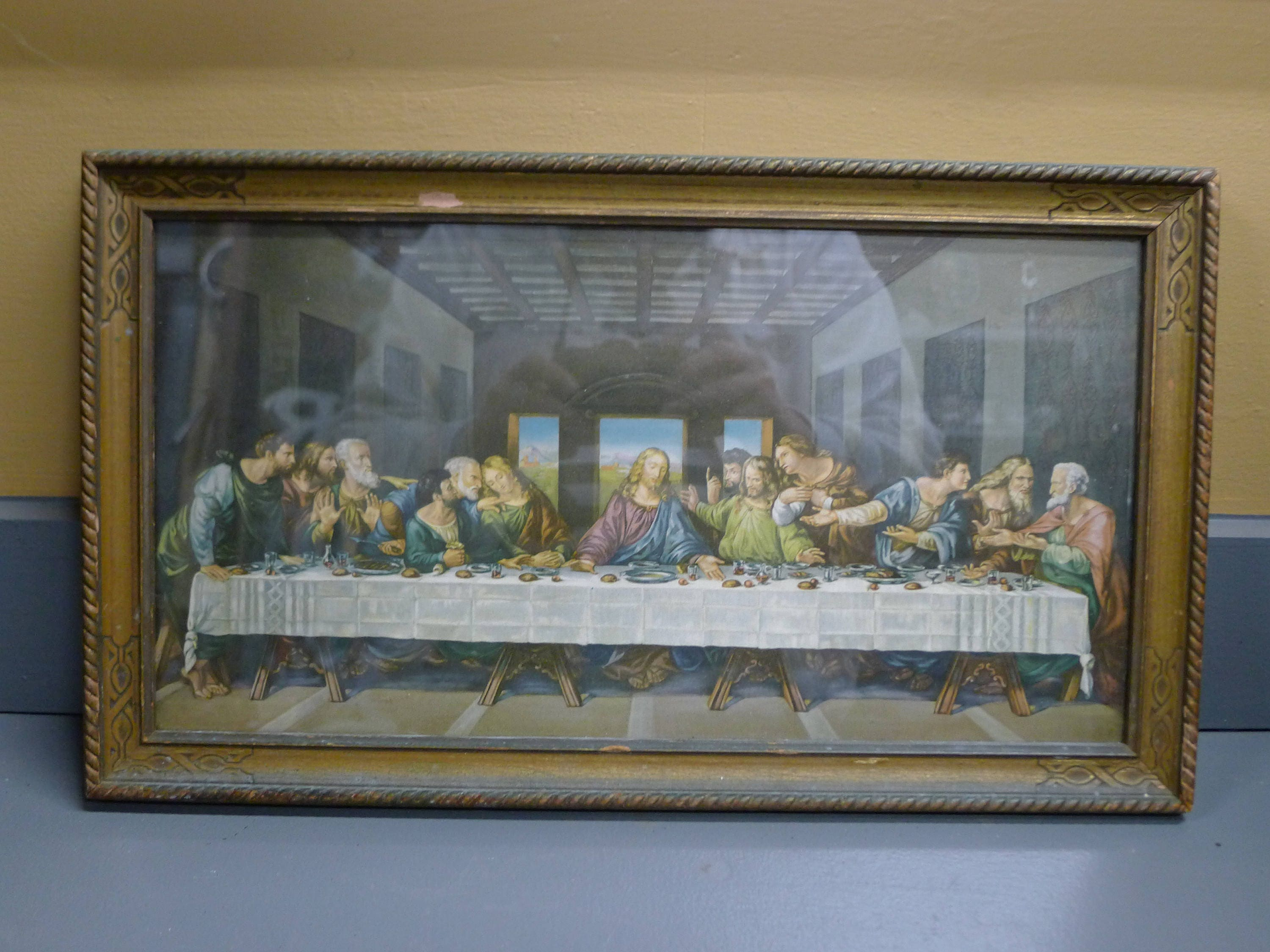 Art print: Da Vinci\'s The Last Supper