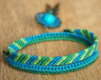 Angel wings turquoise dream catcher wrap bracelet gift for her, Dreamcatcher bracelet for women, Boho macrame bracelet blue girlfriend gift,