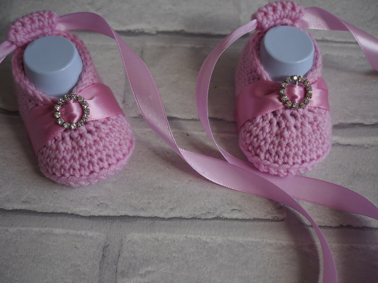 crochet wedding booties, baby christening shoes, baby girl booties, merino wool booties, ballerina booties, ballet slippers, sho