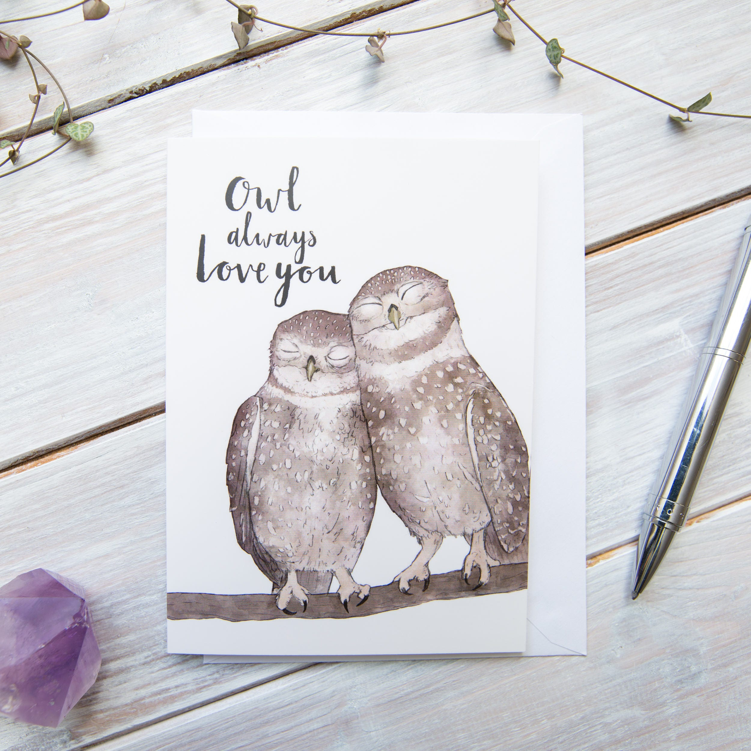 Owl Always Love You Little Owl Greetings Card | Etsy