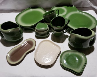 21 Pieces Tamac Pottery - sold by the piece or in total