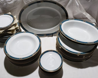 Wedgwood KENYON Set for 8 plus Serving Pieces Embassy Collection
