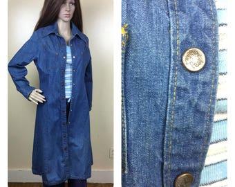c18d4146dc Vintage 70s Landlubber denim coat