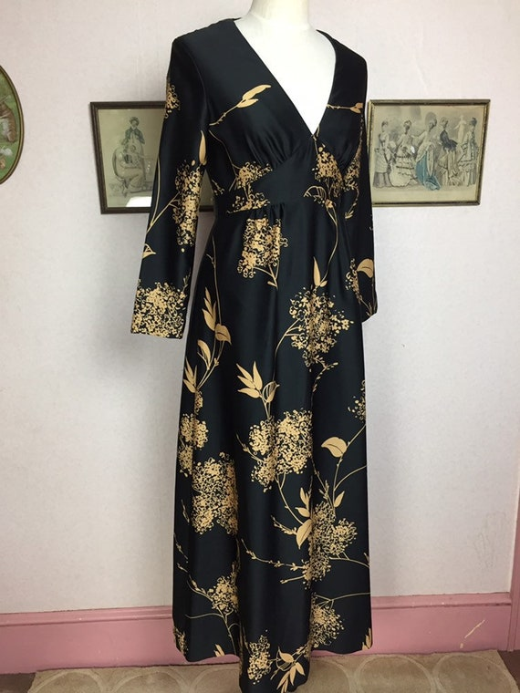 Vintage hawaiian dress,hawaiian print dress,