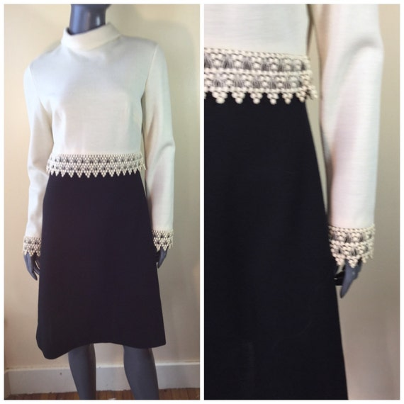 Vintage 60s mod dress Bleeker street and ivory vic