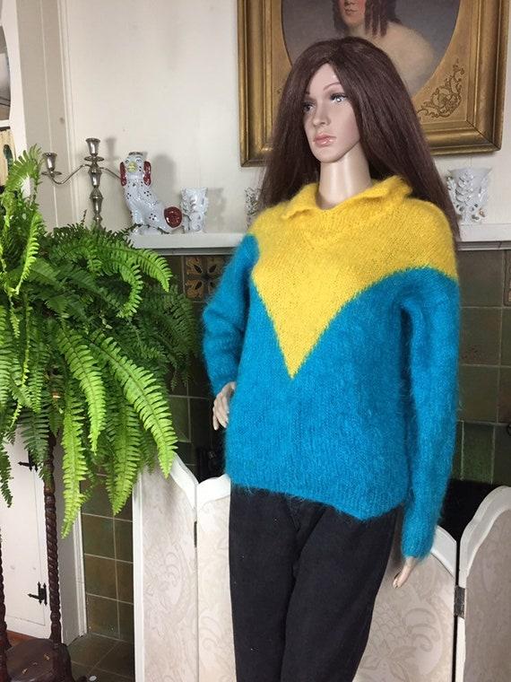 SALE Vintage 50s  Mohair Sweater ,Rockability  195