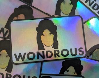 Letterkenny Holographic Wondrous Stewart Sticker