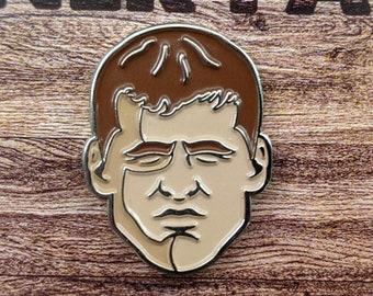 Wayne Letterkenny Enamel Pin