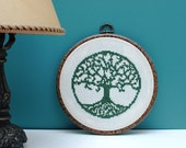 Silhouette  classic Cross stitch pattern Tree of Life