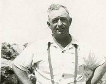 Original 1940s Black & White photograph of a Kentucky Man ~ B240 USA