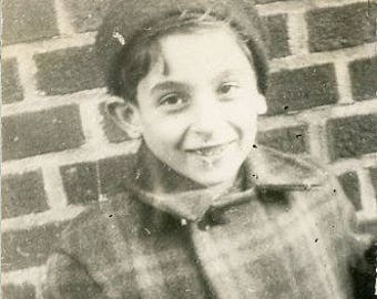 Original 1940 Black & White photograph of a Little Boy ~ B245 Albany New York USA
