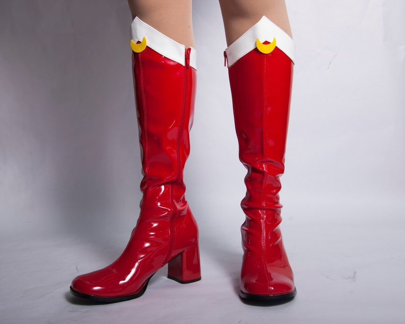 Sailor Moon Boots Sizes 4.5  12 image 0