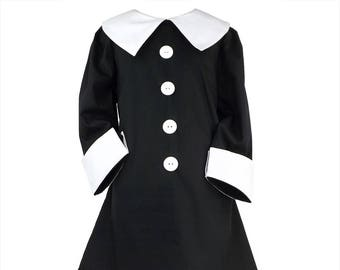 Wednesday Addams Dusk girls dress