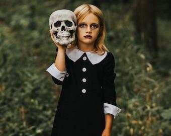 Wednesday Addams Dusk girls dress