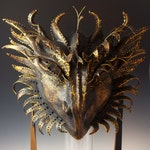 Bronze Wyvern Mask - AVAILABLE