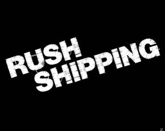 RUSH SHIPPING - Express shipping - Must be authorized in advance by seller - Rush production time Sold Separately!