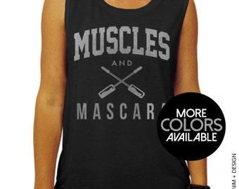 a85c3baed43f92 Muscles and Mascara Muscle Tank - muscle tee