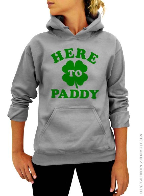 Irish Paddy St Patrick/'s Day Hoodie Paddidas
