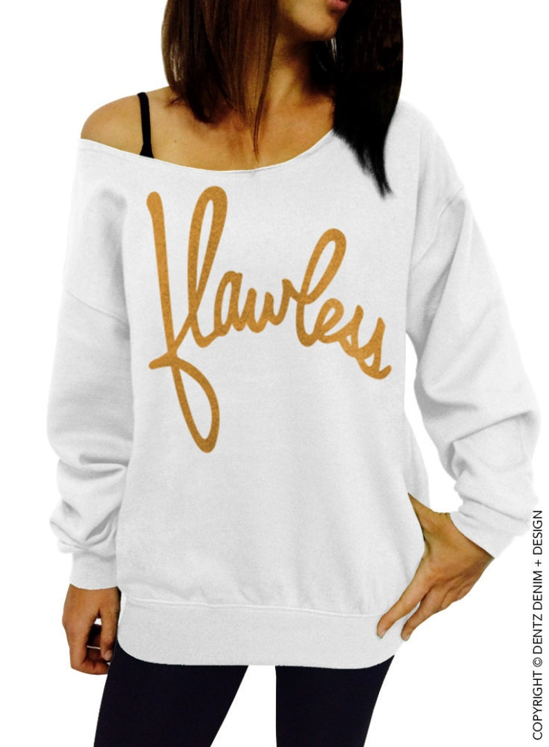 SALE  Flawless  Women's Oversized off the shoulder image 0