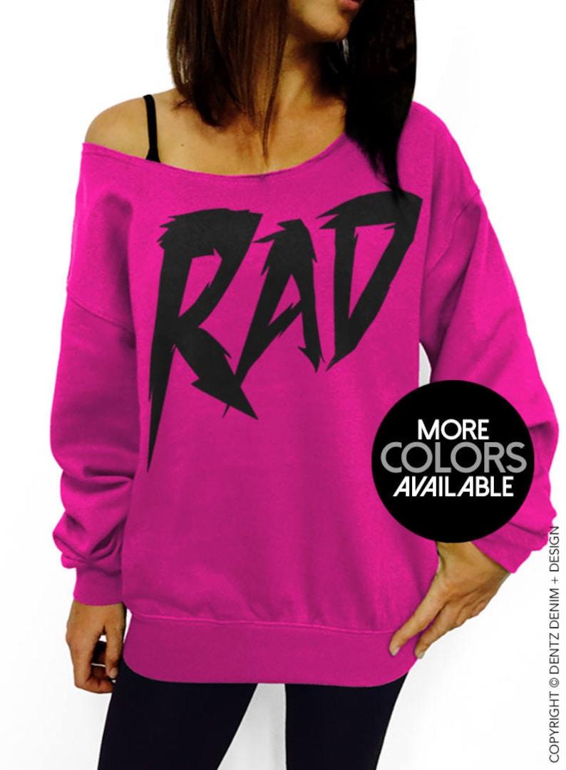 5a20c67f976f86 Rad Sweatshirt Halloween Eighties Costume 80 s