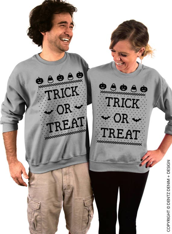 Trick or Treat Halloween Sweater