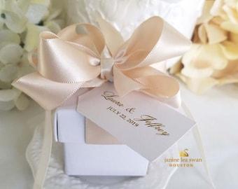 Wedding Favor Boxes.Wedding Favor Box Etsy