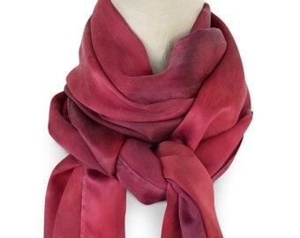 Red silk scarf, red satin scarf, silk satin scarf, red scarves, red silk scarves, womens scarves, red scarf, silk scarves, trending now