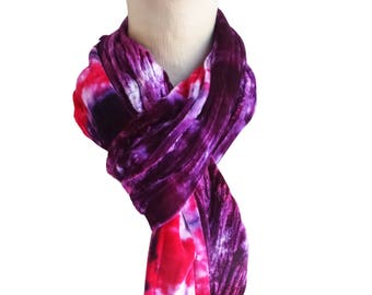 Purple velvet scarf, velvet scarf, purple winter scarf, trending now, purple boho scarf, wife scarf, girlfriend scarf, trendy boho scarf