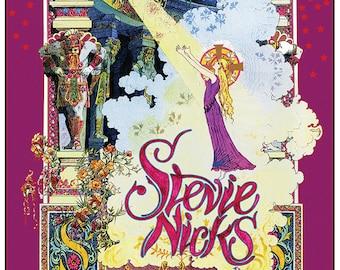 3c051dd6d Stevie Nicks Spotlight art nouveau poster