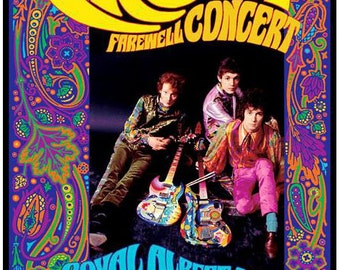 Psychedelic Cream Farewell concert poster