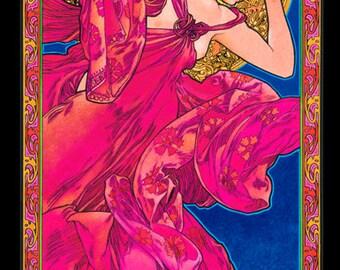 Santana Art Nouveau poster