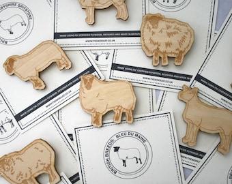 British Sheep Breed Badge