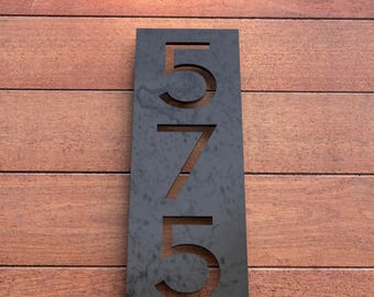 Longview HOT ROLLED STEEL House Numbers